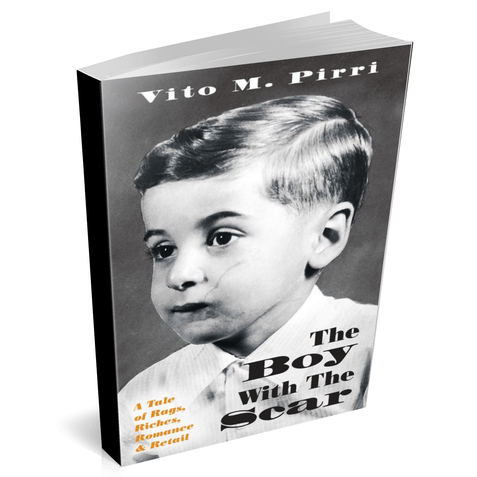 hardcover book - the boy with the scar